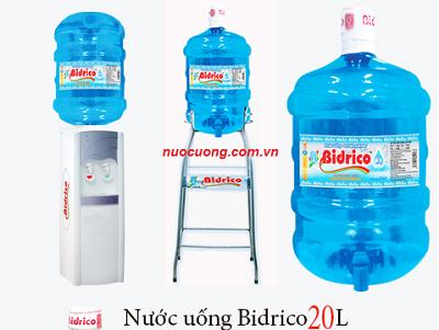 Nước suối Bidrico quận 5