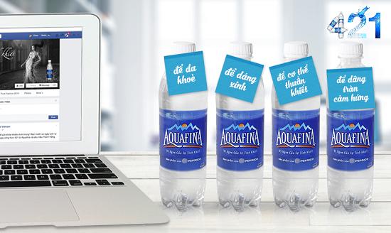 Nước uống Aquafina quận 1